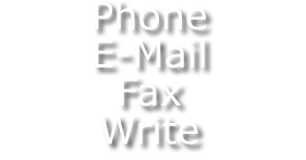 Phone, Email, Fax, Write
